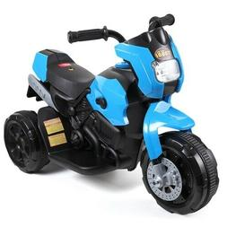 Jaxpety 6V Kids Ride On Motorcycle Battery Powered 3 Wheels