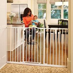 """North States 46.8"""" Wide Tall & Wide Portico Arch Baby Gate:"""