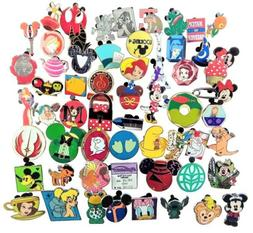 Disney Assorted Pin Trading Lot ~ Pick Size From 10-100 ~ Br