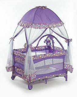 Baby Nursery Playard Bassinet Girls Room Mosquito Net Carry