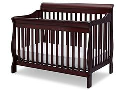 Delta Children Canton 4-in-1 Convertible Baby Crib, Espresso