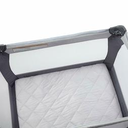 Carter's Quilted Playard Sheet, Solid GREY GRAY  One Size PL