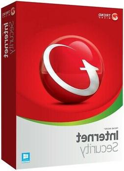 Trend Micro Internet Security 2019  3 Pc  1 year  Download