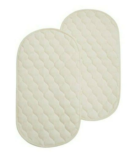 2 tlcare waterproof quilted playard changing table