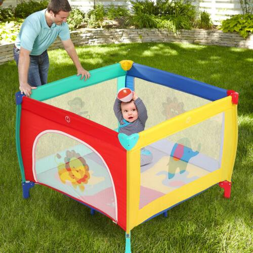 39''x39'' Baby Play Pen+Mattress Out/Indoor for