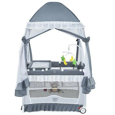 4 in 1 baby playard portable infant