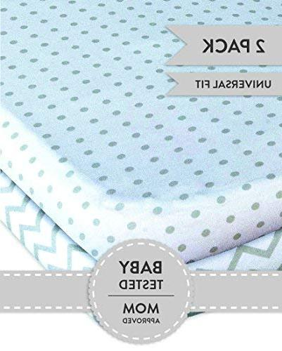 Bassinet Set 2 Pack for Ely's Grey and Dot Ely's Co.