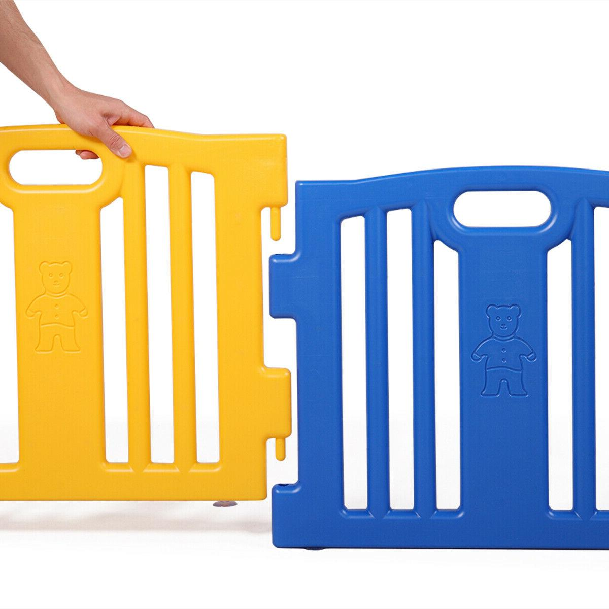 Baby Kids Panel Safety Play Center Fence