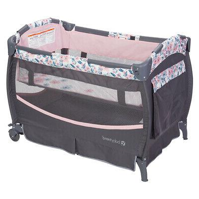 Baby Nursery Playard Crib Bluebell