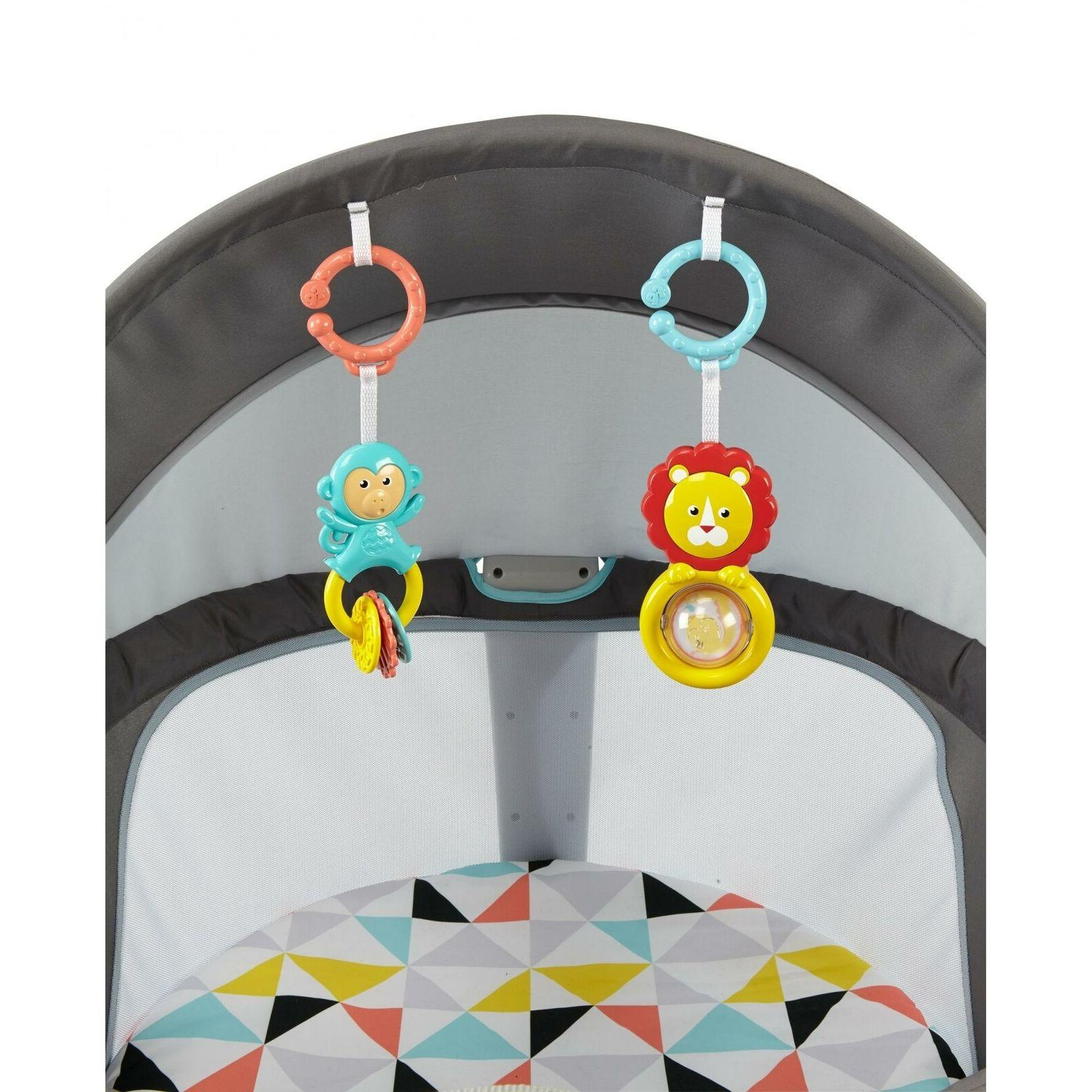 Fisher-Price On-The-Go Safe Windmill Playard