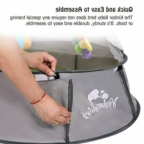 Kinbor Baby Pop-Up Play Tent Canopy With