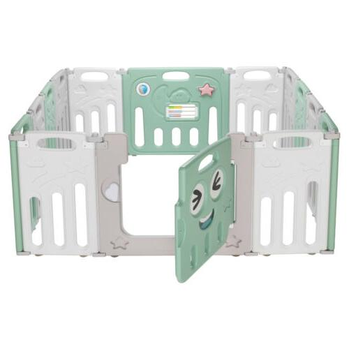 Fordable Baby Panel Playpen Safety Play Yard