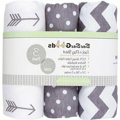 jersey cotton fitted pack n play playard