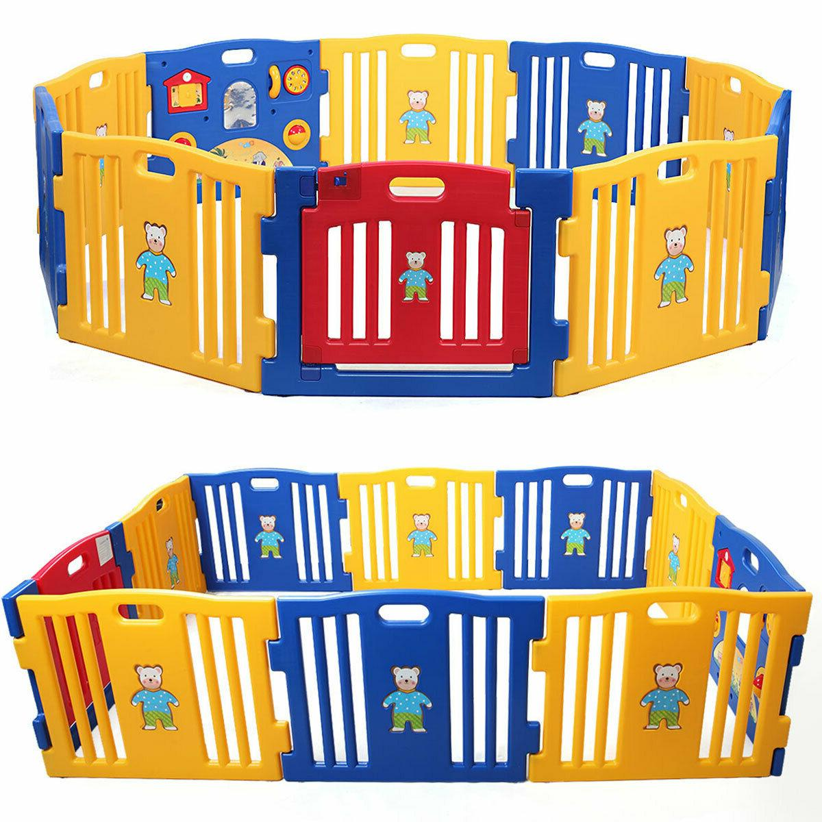 new baby playpen kids panel safety play