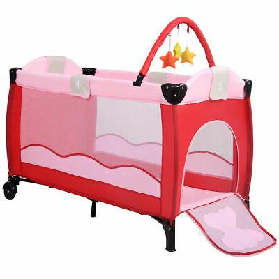New Baby Playpen Pack Travel Infant Bed