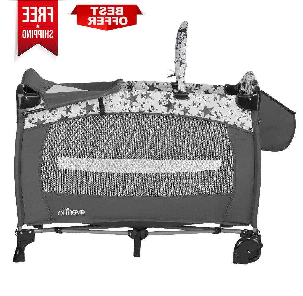 NEW Portable Foldable Baby Playard,