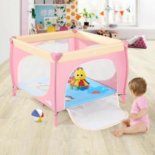 39x39inch baby playard bed play pen portable