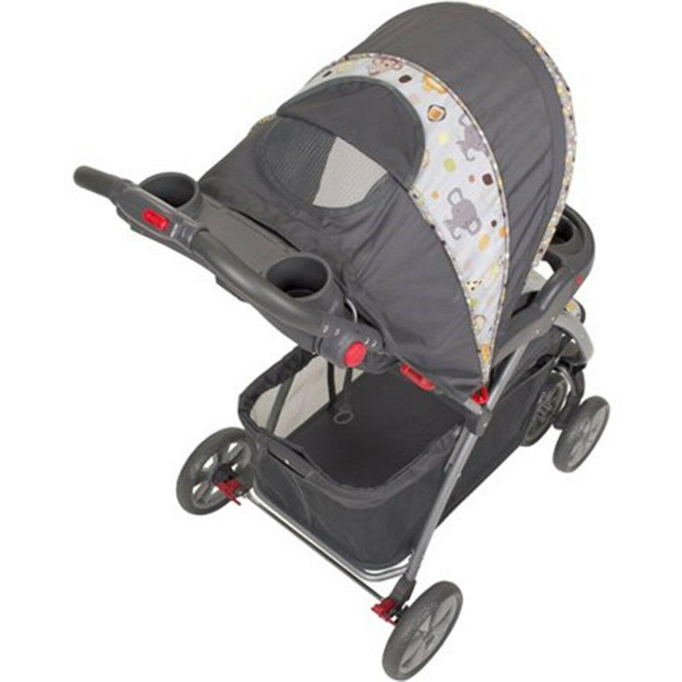 Stroller Baby Trend System Car Can