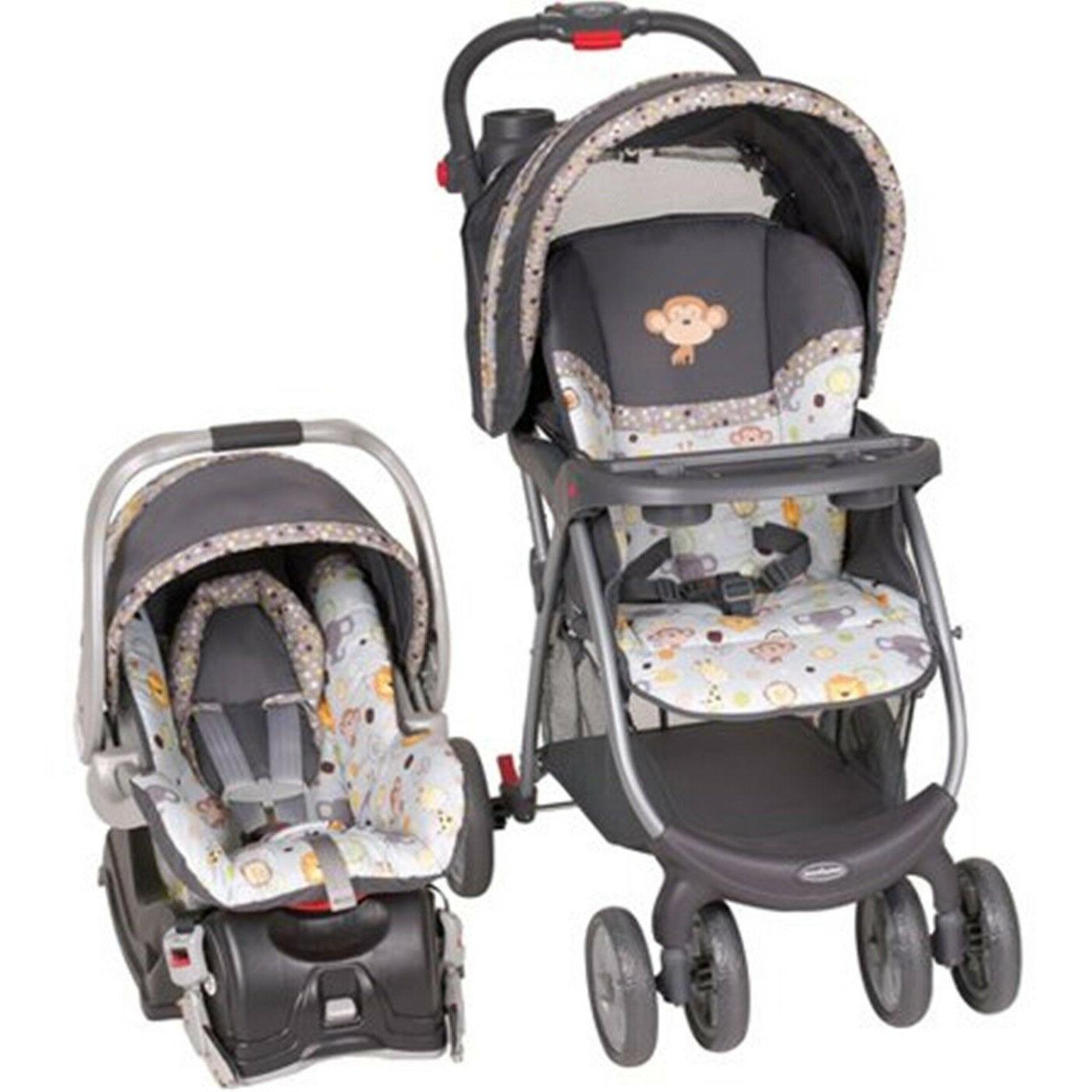 stroller and carrier combo travel system car