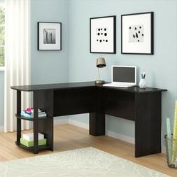 FCH Office L-Shaped Computer Desk Corner Laptop PC Table Boo