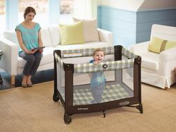 Graco Pack n Play Playard Baby Travel Portable Brown on Go I