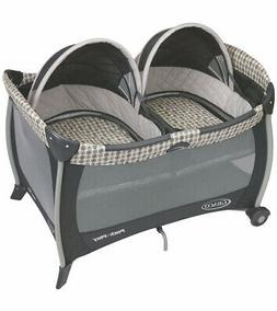 Graco Pack n Play Playard With Twins Bassinet - Vance