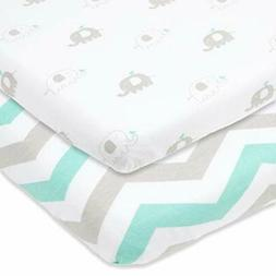 Cuddly Cubs Pack n Play Sheets | 2 Pack Playard Sheet For