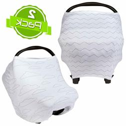 BaeBae Goods Stretchy Cover Car Seat, Nursing, High Chair, S