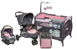 Baby Trend Stroller Jogging Travel System with Car Seat Girl