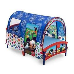 Delta Children Toddler Bed Canopy Tent Disney Mickey Mouse B