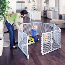Toddleroo by North States 6 Panel Superyard Portable Indoor