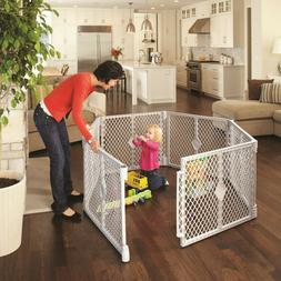toddleroo by 6 panel superyard portable indoor